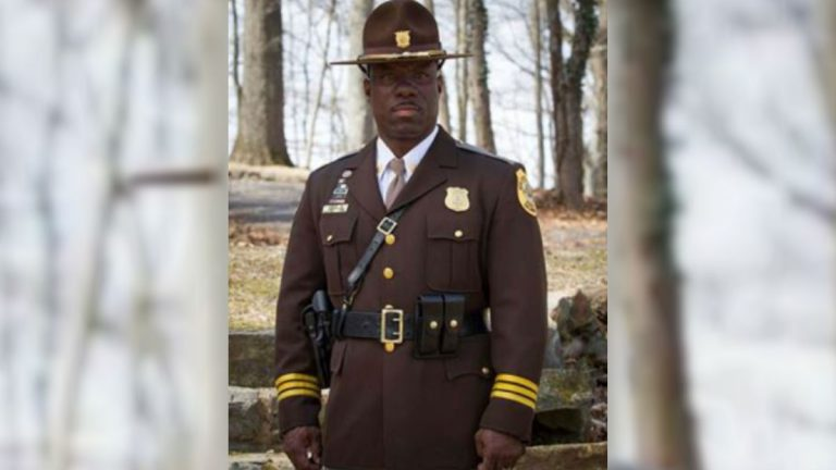 Vaughn Bond is the first African American chosen to lead New Castle County Police. (photo courtesy NCCo PD)