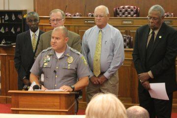 Dover Police Chief Paul Bernat (Matt Grady/WHYY)