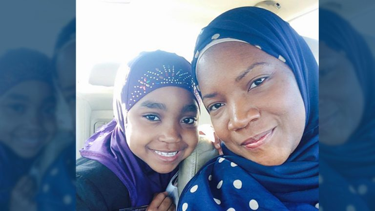 10 year old Aurie and her mom