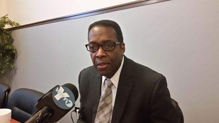 City Council President Darrell Clarke (Tom MacDonald/WHYY)