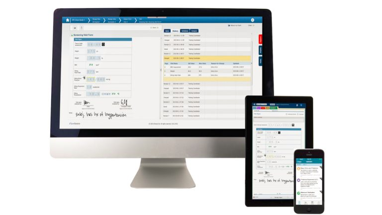 The Montgomery County firm sells a platform that lets pharmaceutical companies go paperless during drug trials. (Image courtesy of Clinical Ink)