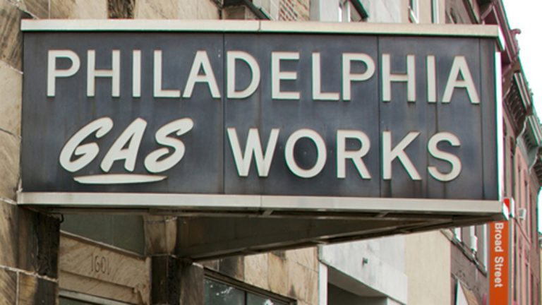 Philadelphia Gas Works offices are shown, located at 1601 S. Broad Street. (Nathaniel Hamilton/NewsWorks)