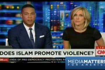 Screen capture from online video in a Media Matters article