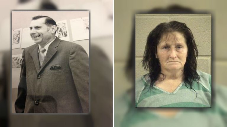Joseph Braun of Wilmington was killed in 1985. Now, Sandra Hartzag is awaiting extradition to Delaware where she'll be charged in his murder. (photos courtesy NCCoPD)