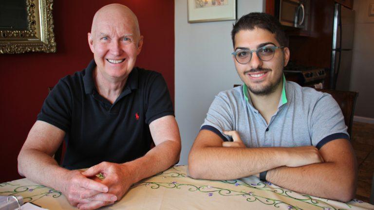 Composer David Kurkowski (left) of Philadelphia and librettist Nino Pratticó of Rome met online through Mercury Musical Developments. Their long-distance relationship produced ''Collodi