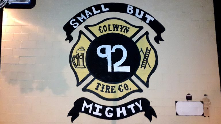 Part of the financial recovery plan calls for absorbing the fire department's budget into borough's general budget. The fire department is one of several entities in Colwyn under investigation by the Delaware County District Attorney's office. (Laura Benshoff/WHYY)