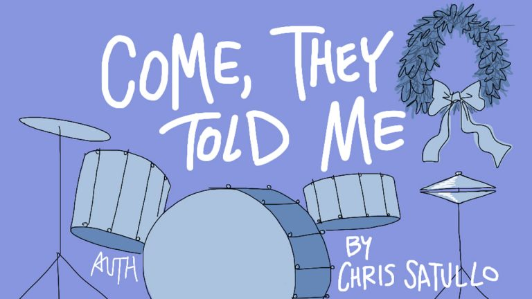 'Come, They Told Me' — A Holiday Play by Chris Satullo, Illustrated by Tony Auth