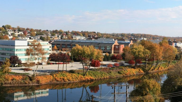 Conshohocken along the Schuylkill River