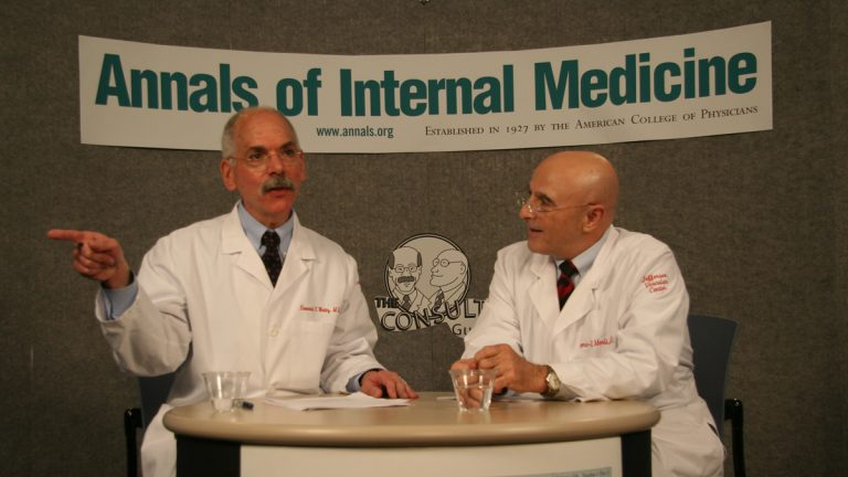 Howard Weitz (left) and Geno Merli host