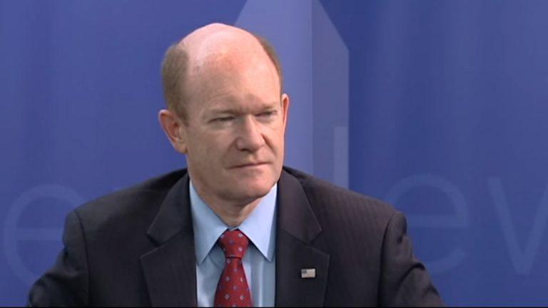 Delaware U.S. Senator Chris Coons