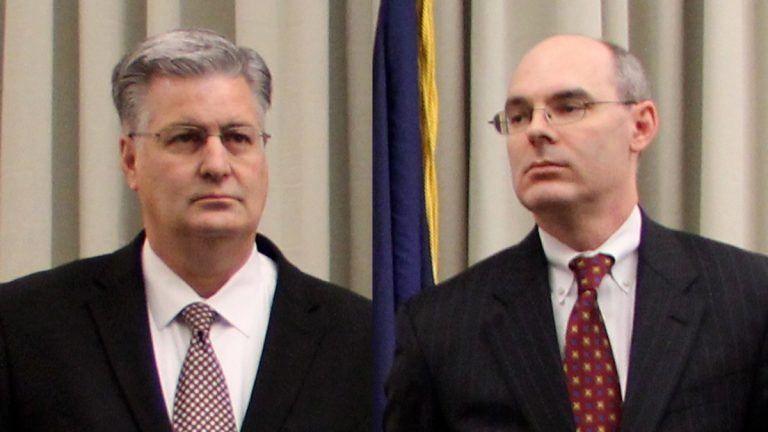 Marc Costanzo (left) and Frank Fina. (Emma Lee/for NewsWorks)