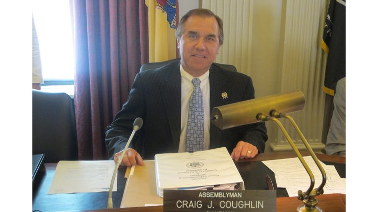 Assemblyman Craig Coughlin proposes offering small businesses low-interest loans to cover costs of installing equipment and software that safeguards data systems from cyber-attacks. (Phil Gregory / WHYY)