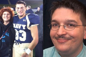 Justin Zemser, a 21-year-old midshipman at the U.S. Naval Academy (left) and Jim Gaines, a 48-year-old video software architect with the Associated Press were among those killed in Tuesday night's Amtrak derailment in Port Richmond. (Images via Facebook and AP)
