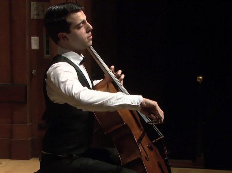 Cellist Timotheos Petrin
