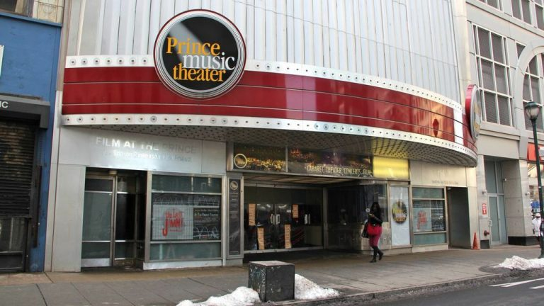 The Philadelphia Film Society has purchased the Prince Theater with plans to screen films and rent out the space to performance companies. (Emma Lee/WHYY)
