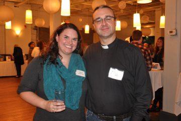 Dana Debrek and Kirk Berlenbach. (Greta Iverson/for NewsWorks)