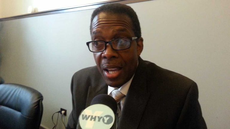 Council President Darrell Clarke says after an extensive evaluation, Philadelphia City Council has decided not to move forward with a bill to sell PGW. (Tom MacDonald/WHYY, file)