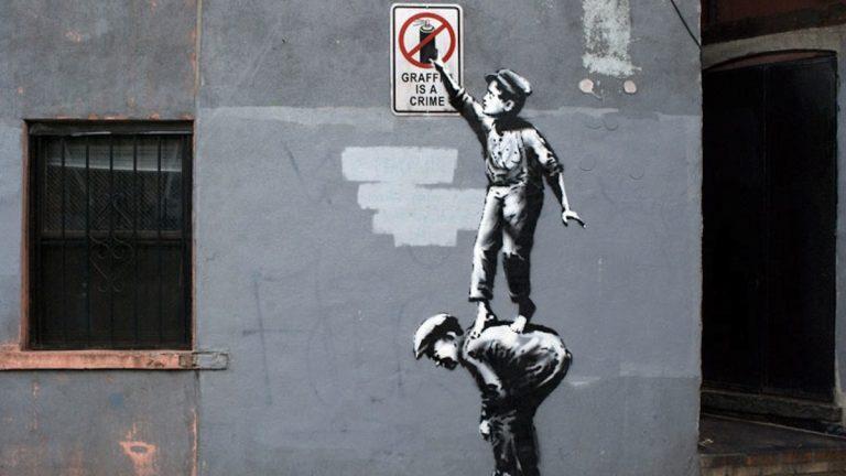 (Courtesy of Banksy)