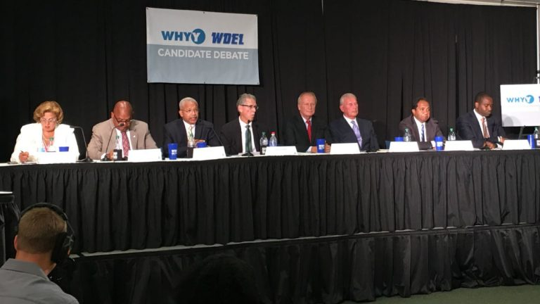 Eight candidates