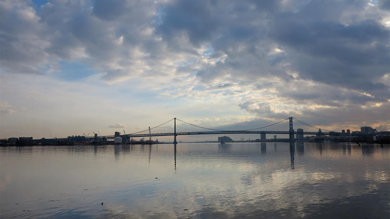 An initiative launched this week will focus on researching the best way to protect the Delaware River and its watershed in the face of climate change.(Ashley Hahn/PlanPhilly)