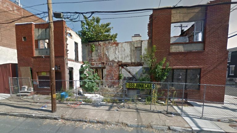 A Google Maps image shows 1140 S. 24th St. before it was demolished. (<a href=