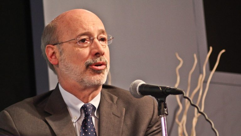 Former Secretary of Revenue Tom Wolf is a democrat running for Governor of Pa. (Kimberly Paynter/WHYY)