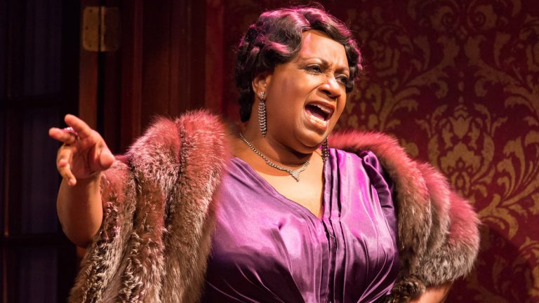 Miche Braden as the singer Bessie Smith in