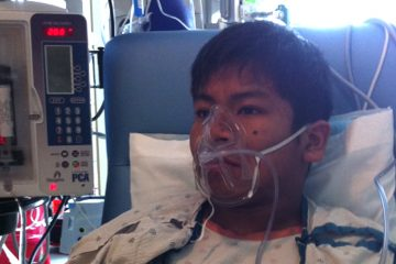 A serious headache in 2010 kicked off a five-year medical odyssey for Diego Luke.  (Photo courtesy of Luke)