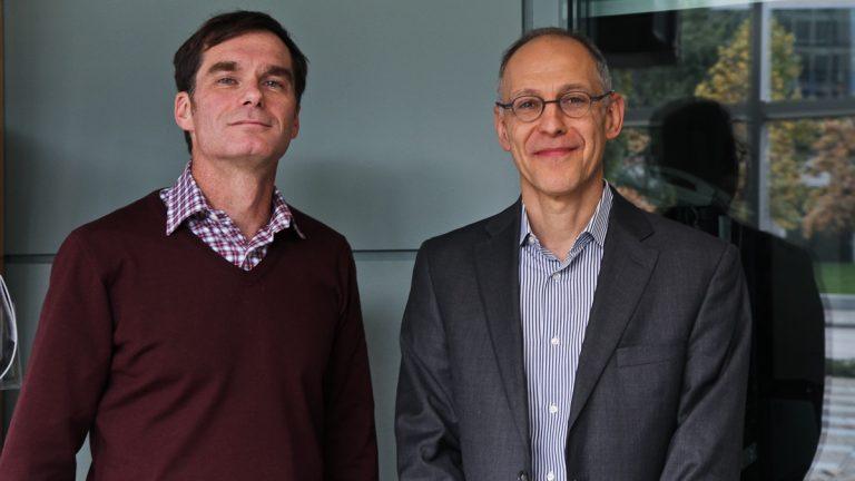 Jason Karlawish (left)