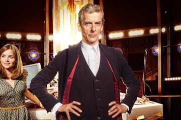 A publicity photo shows Clara (Jenna Coleman) and The Doctor (Peter Capaldi) from the BBC series 'Doctor Who.' (PRNewsFoto/BBC AMERICA)