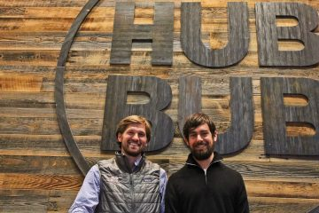 Drew Crockett, owner of HubBub Coffee, received funds from the new venture of Jack Dorsey, who co-founded both Twitter and Square. (Kimberly Paynter/WHYY)