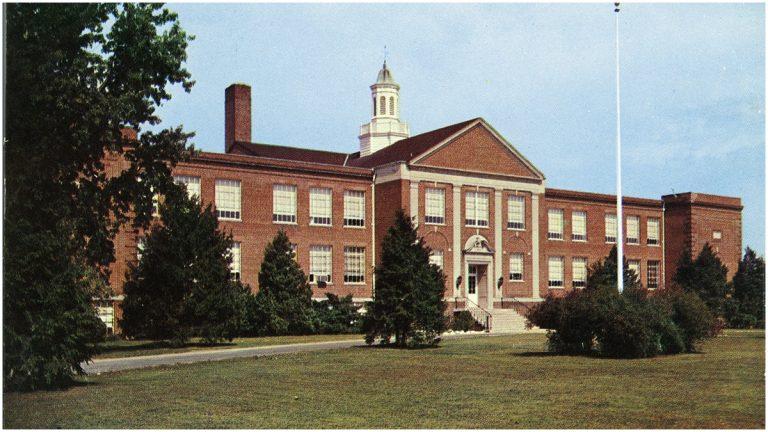 Dover High School (Photo courtesy of Delaware Public Archives)