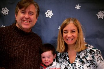 Tim and Candice Ogline, with their son, Philip. (Courtesy of the Oglines)