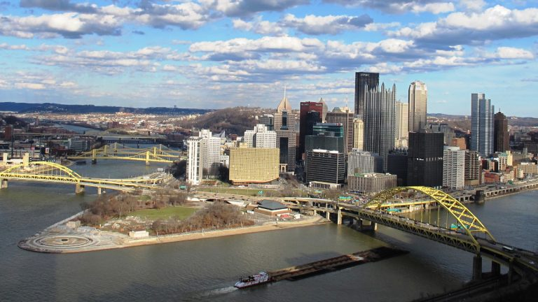 Downtown Pittsburgh is becoming more of a neighborhood, as more people move there to live, not just work.  (Deanna Garcia for 90.5 WESA)
