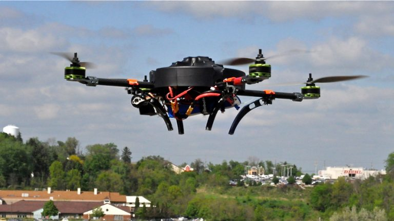 Legislation under consideration in Harrisburg would ban the use of drones by both hunters and animal rights activists. (NewsWorks file photo)