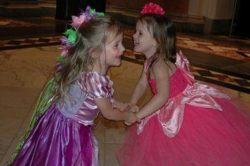 Kids enjoying the annual Storybook Ball. (Courtesy of Jen Bradley)