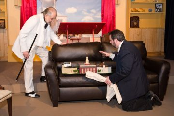 A scene from the Old Academy Players' production of 'Something Intangible.' (Courtesy of Old Academy Players)