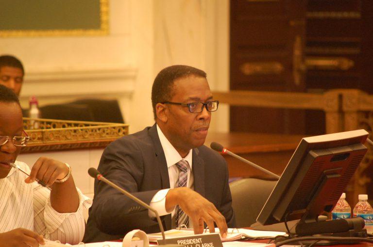 Council President Darrell Clarke