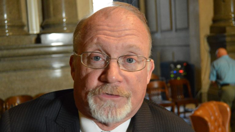 Philadelphia Councilman William Greenlee wants to outlaw 'sales' of parking spaces through use of an app. (Tom MacDonald/WHYY)