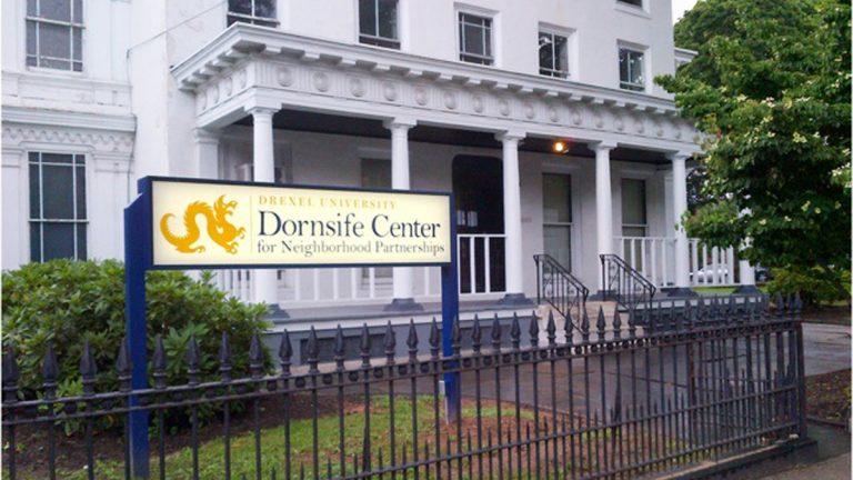 Drexel University's Dornsife Center, prior to renovations being unveiled late Thursday (Image courtesy of Drexel University)