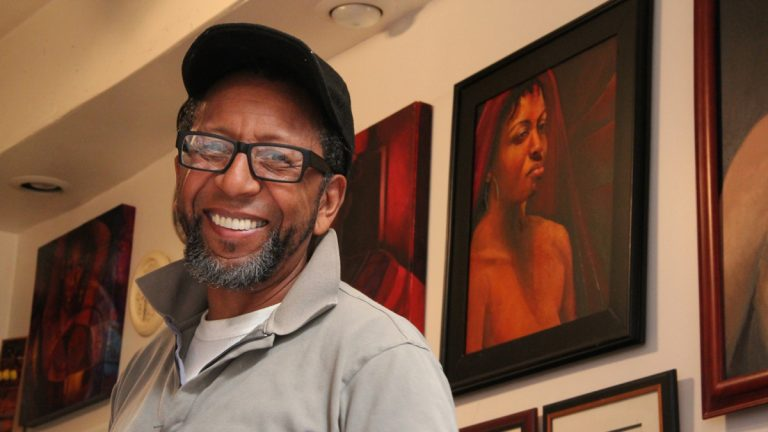 Philadelphia artist James Dupree succeeded in preventing the city from seizing his studio in Mantua. (Emma Lee/for Newsworks, file)