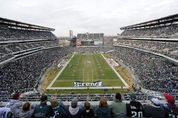 Lincoln Financial Field, home of the Philadelphia Eagles. (AP Photo/Michael Perez)