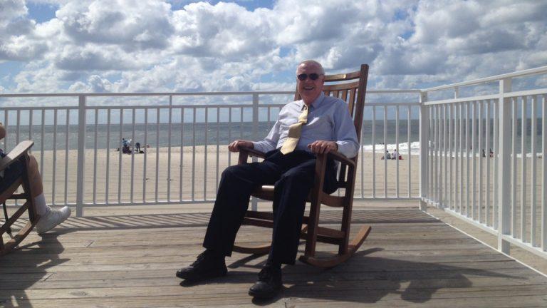 Cape May Mayor Ed Mahaney (John Weber/for NewsWorks)