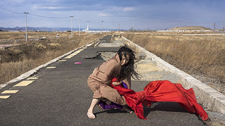 'Eiko in Fukushima'(Photo by William Johnston)