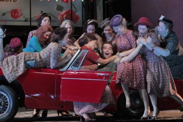 A reimagined version of Donizetti's bel canto comedy