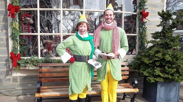 Elves on the Avenue. (Courtesy of the Chestnut Hill Visitors Center)