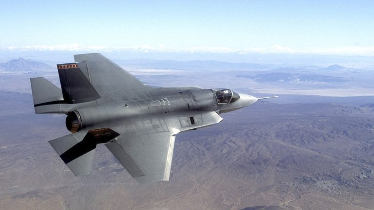 In this image provided by Northrop Grumman Corp. a pre-production model of the F-35 Joint Strike Fighter is shown. (AP Photo/Northrop Grumman, file)