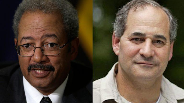 Rep. Chaka Fattah, D-Pa. (left), and political consultant Tom Lindenfeld (Fattah photo by Matt Rourke, AP/Lindenfeld photo via Lindenfeld's Facebook Page)