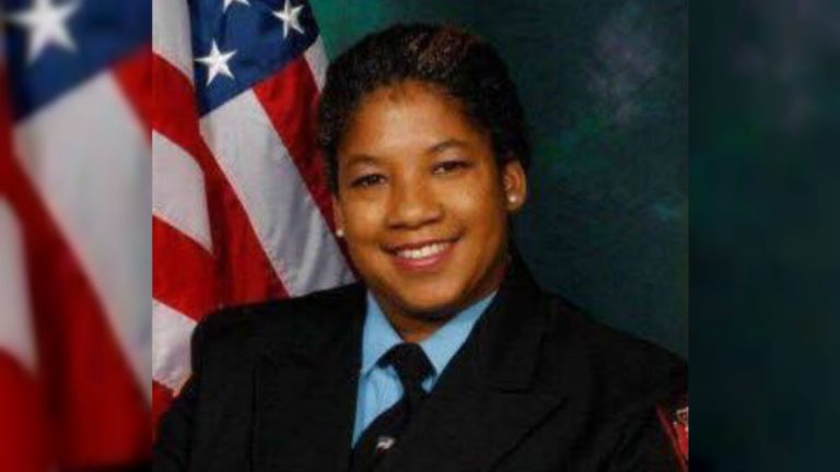 Senior Firefighter Ardythe Hope is the third Wilmington firefighter to die following the Sept. 24 fire that was intentionally set. (photo courtesy Wilm. Fire Dept.)