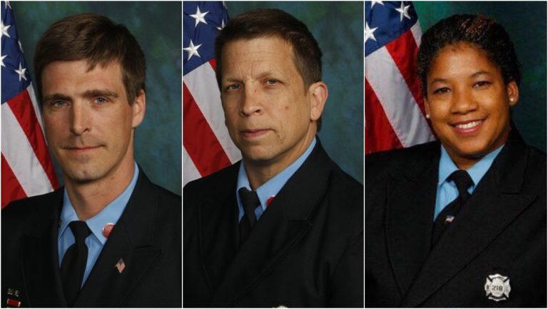 Fallen Wilmington firefighters Christopher Leach